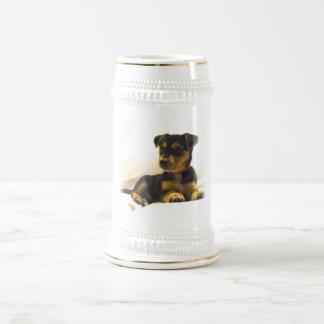 Black Chihuahua Beer Stein Coffee Mugs
