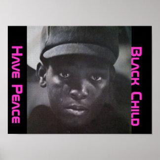 Black Child Poster