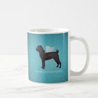 Black Chinese Shar Pei Pet Memorial and Sympathy Coffee Mug