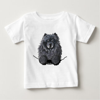 Black Chow Baby Shirt