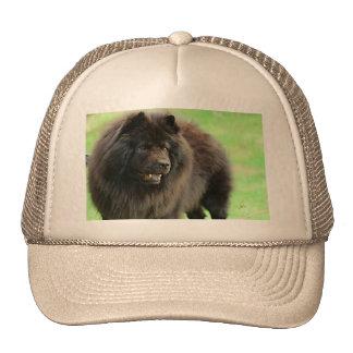 Black Chow Chow jjhelene Trucker Hat