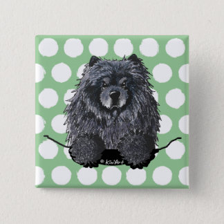 Black Chow Pin