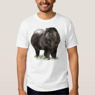 black chow t shirt