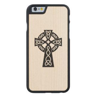 Black Christian Holy Cross iPhone 6 case