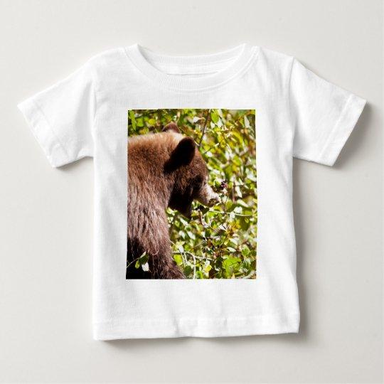 Black Cinnamon Bear Baby T-Shirt
