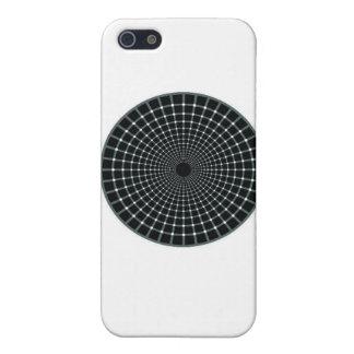 black circle optical illusion iPhone 5 covers