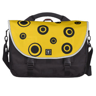 Black Circles Products Laptop Bag