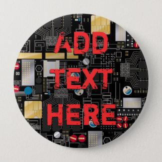 Black circuit board button