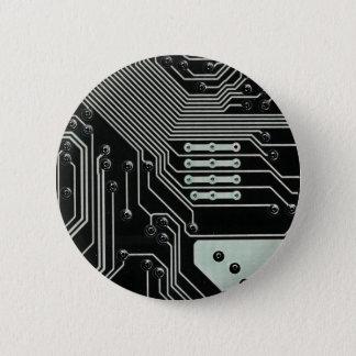 Black Circuit Board - Electronic Print Button