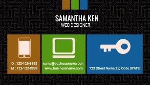 Circuit board design business cards templates zazzle black circuit board web designer business card colourmoves