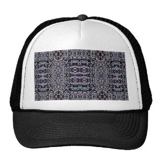 Black Circuits 12 Mesh Hats