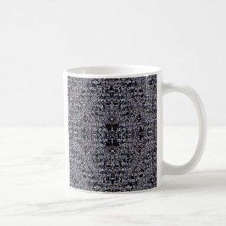 Black Circuits 1 Coffee Mug