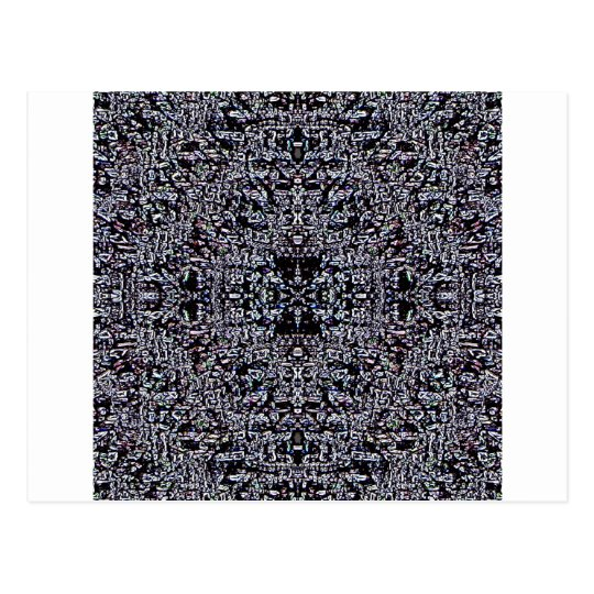 Black Circuits 1 Postcard