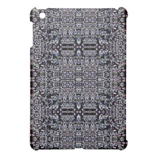 Black Circuits 9 iPad Mini Cover