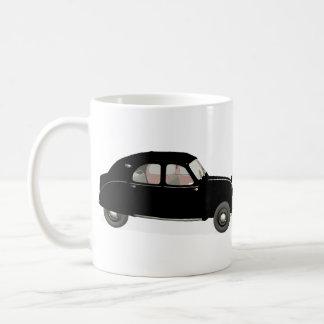 Black Citroen 2CV Mug