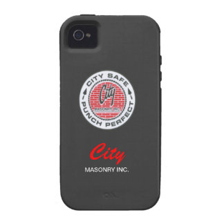 Black City Masonry iPhone 4 Case