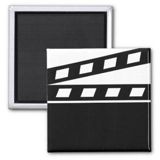 Black Clapperboard Magnet