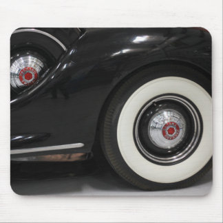 Black Classic card Mouse Pad