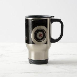 Black Classic card Travel Mug