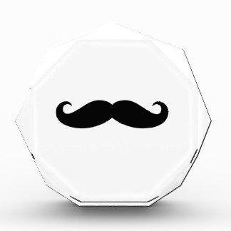 Black Classic Mustache Simple Bushy Moustache Hair Acrylic Award