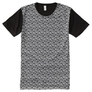 BLACK CLOUD DESIGN All-Over PRINT T-SHIRT