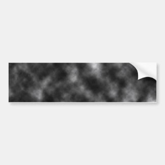Black Cloud Template Bumper Sticker