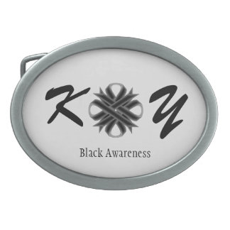 Black Clover Ribbon Belt Buckle