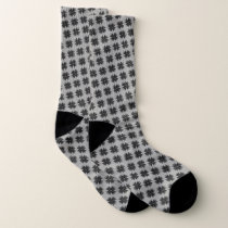 Black Clover Ribbon by Kenneth Yoncich Socks