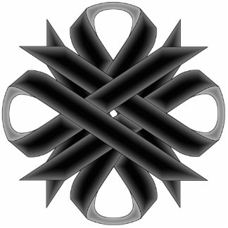 Black Clover Ribbon Cutout