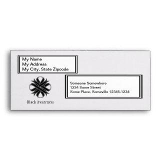 Black Clover Ribbon Envelope