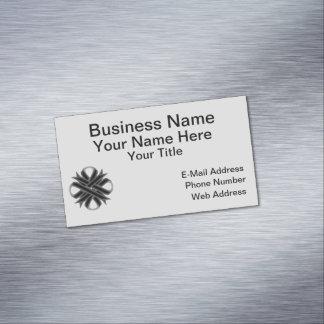 Black Clover Ribbon Magnetic Business Card