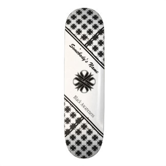 Black Clover Ribbon Skateboard