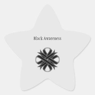 Black Clover Ribbon Star Sticker