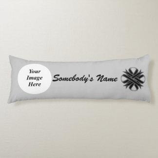 Black Clover Ribbon Template Body Pillow