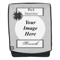 Black Clover Ribbon Template by Kenneth Yoncich Backpack