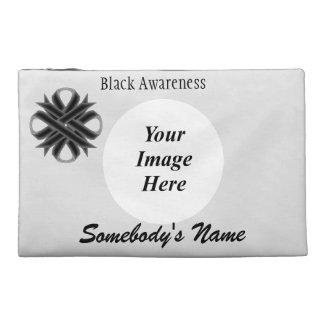 Black Clover Ribbon Template Travel Accessories Bag