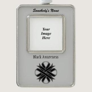 Black Clover Ribbon Template (V-O) Ornament
