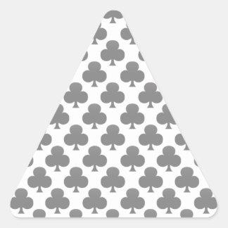 Black Club Pattern Stickers