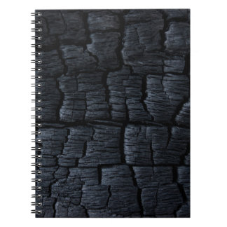 Black coal notebook