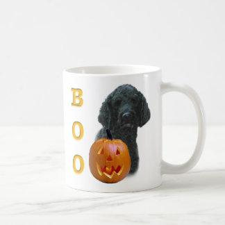Black Coated Poodle Boo Mugs