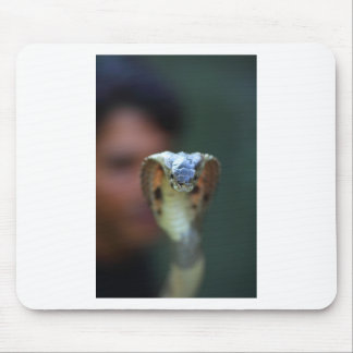 Black cobra mouse pad