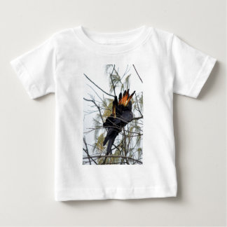 BLACK COCKATOO QUEENSLAND AUSTRALIA BABY T-Shirt