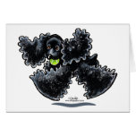Black Cocker Spaniel Play Card
