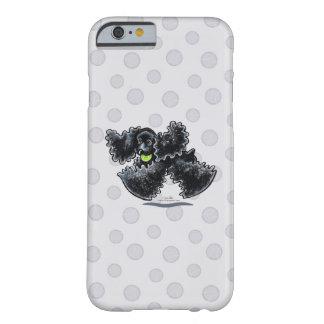 Black Cocker Spaniel Play iPhone 6 Case