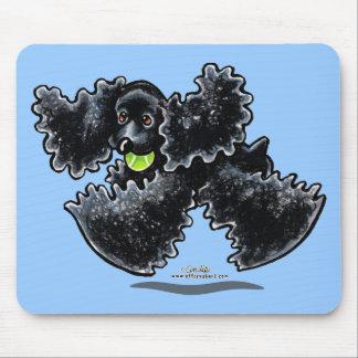 Black Cocker Spaniel Play Mouse Pad