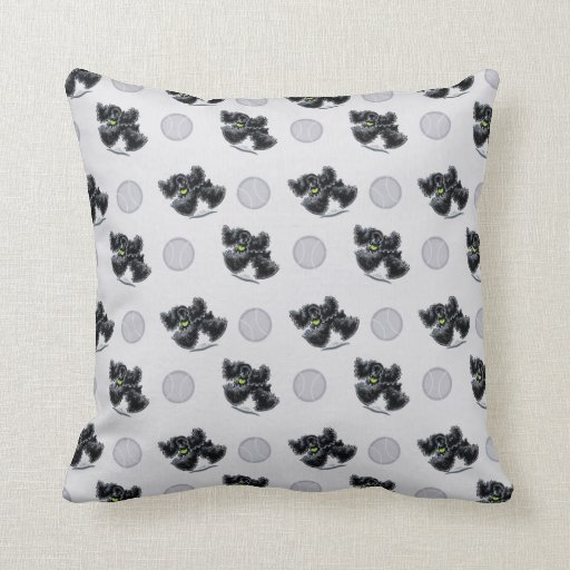 Black Cocker Spaniel Play Pillows