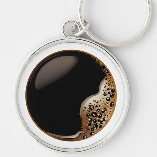 Black Coffee Keychain