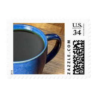 Black Coffee Postage Stamp