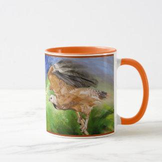 Black-Collared Hawk Father's Day Mug