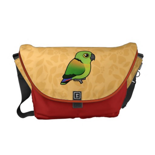 Black-collared Lovebird Courier Bags